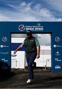 23 September 2020; Shane Lowry of Ireland arrives for his practice round ahead of the Dubai Duty Free Irish Open Golf Championship at Galgorm Spa & Golf Resort in Ballymena, Antrim. Photo by Brendan Moran/Sportsfile