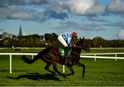 23 September 2020; Costalotmore, with Tiernan Power Roche up, on their way to winning the Listowel Vintners Association Flat Race at Listowel in Kerry. Photo by Harry Murphy/Sportsfile