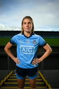 24 September 2020; AIG Insurance today launched the 2020 Dublin All-Ireland GAA Season with a tribute to club volunteers, members and frontline workers. Dublin ladies' footballer Jennifer Dunne was in Parnell Park as part of the launch. Photo by Stephen McCarthy/Sportsfile
