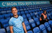 24 September 2020; AIG Insurance today launched the 2020 Dublin All-Ireland GAA Season with a tribute to club volunteers, members and frontline workers. Dublin footballer Jonny Cooper and GAA Volunteer Brigid Tolster were in Parnell Park as part of the launch. Photo by Stephen McCarthy/Sportsfile