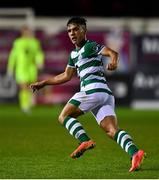 22 September 2020; Sean Brennan of Shamrock Rovers II during the SSE Airtricity League First Division match between Drogheda United and Shamrock Rovers II at United Park in Drogheda, Louth. Photo by Ben McShane/Sportsfile