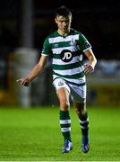 22 September 2020; Adam Wells of Shamrock Rovers II during the SSE Airtricity League First Division match between Drogheda United and Shamrock Rovers II at United Park in Drogheda, Louth. Photo by Ben McShane/Sportsfile