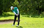 26 September 2020; Oscar Lengden of Sweden plays his second shot to the sixth hole during day three of the Dubai Duty Free Irish Open Golf Championship at Galgorm Spa & Golf Resort in Ballymena, Antrim. Photo by Brendan Moran/Sportsfile