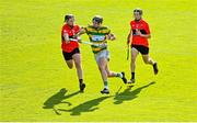 26 September 2020; Niall Cashman of Blackrock is tackled by Andrew Casey of UCC during the Cork County Premier Senior Hurling Championship Semi-Final match between Blackrock and UCC at Páirc Ui Chaoimh in Cork. Photo by Eóin Noonan/Sportsfile