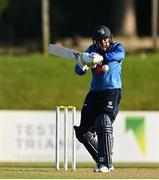 26 September 2020; Simi Singh of Leinster Lightning plays a shot during the Test Triangle Inter-Provincial Series 50 over match between Leinster Lightning and Northern Knights at Malahide Cricket Club in Dublin. Photo by Sam Barnes/Sportsfile