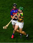 26 September 2020; David Dooling of Glen Rovers is tackled by Alan Bowen of Erin's Own during the Cork County Premier Senior Hurling Championship Semi-Final match between Glen Rovers and Erins Own at Páirc Ui Chaoimh in Cork. Photo by Eóin Noonan/Sportsfile