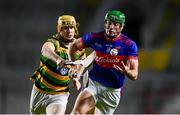 26 September 2020; Robbie O'Flynn of Erin's Own in action against David Noonan of Glen Rovers during the Cork County Premier Senior Hurling Championship Semi-Final match between Glen Rovers and Erins Own at Páirc Ui Chaoimh in Cork. Photo by Eóin Noonan/Sportsfile
