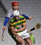 26 September 2020; Patrick Horgan of Glen Rovers is tackled by Shay Bowen of Erin's Own during the Cork County Premier Senior Hurling Championship Semi-Final match between Glen Rovers and Erins Own at Páirc Ui Chaoimh in Cork. Photo by Eóin Noonan/Sportsfile