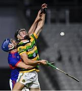 26 September 2020; Simon Kennefick of Glen Rovers in action against Cormac Dooley of Erin's Own during the Cork County Premier Senior Hurling Championship Semi-Final match between Glen Rovers and Erins Own at Páirc Ui Chaoimh in Cork. Photo by Eóin Noonan/Sportsfile