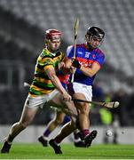26 September 2020; Barry Óg Murphy of Erin's Own in action against Dale Tynan of Glen Rovers during the Cork County Premier Senior Hurling Championship Semi-Final match between Glen Rovers and Erins Own at Páirc Ui Chaoimh in Cork. Photo by Eóin Noonan/Sportsfile