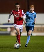 26 September 2020; Chris Forrester of St Patrick's Athletic during the SSE Airtricity League Premier Division match between St Patrick's Athletic and Shelbourne at Richmond Park in Dublin. Photo by Stephen McCarthy/Sportsfile