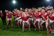 26 September 2020; East Kerry players celebrate after the Kerry County Senior Football Championship Final match between East Kerry and Mid Kerry at Austin Stack Park in Tralee, Kerry. Photo by Matt Browne/Sportsfile