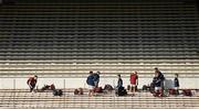 27 September 2020; Dicksboro players arrive prior to the Kilkenny County Senior Hurling Championship Final match between Ballyhale Shamrocks and Dicksboro at UPMC Nowlan Park in Kilkenny. Photo by Seb Daly/Sportsfile
