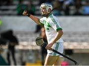 27 September 2020; TJ Reid of Ballyhale Shamrocks celebrates at the final whistle following his side's victory during the Kilkenny County Senior Hurling Championship Final match between Ballyhale Shamrocks and Dicksboro at UPMC Nowlan Park in Kilkenny. Photo by Seb Daly/Sportsfile