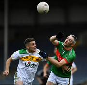 27 September 2020; Jason Lonergan of Clonmel Commercials in action against Willie Eviston of Loughmore-Castleiney during the Tipperary County Senior Football Championship Final match between Clonmel Commercials and Loughmore-Castleiney at Semple Stadium in Thurles, Tipperary. Photo by Ray McManus/Sportsfile