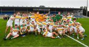 27 September 2020; The Clonmel Commercials captain Jamie Peters and his team mates with the O'Dwyer Cup after the Tipperary County Senior Football Championship Final match between Clonmel Commercials and Loughmore-Castleiney at Semple Stadium in Thurles, Tipperary. Photo by Ray McManus/Sportsfile