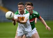 27 September 2020; Jason Lonergan of Clonmel Commercials in action against John Meagher of Loughmore-Castleiney during the Tipperary County Senior Football Championship Final match between Clonmel Commercials and Loughmore-Castleiney at Semple Stadium in Thurles, Tipperary. Photo by Ray McManus/Sportsfile