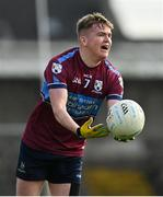 27 September 2020; Conor Slevin of Tyrrelspass during the Westmeath County Senior Football Championship Final match between Tyrrelspass and St Loman's Mullingar at TEG Cusack Park in Mullingar, Westmeath. Photo by Ramsey Cardy/Sportsfile