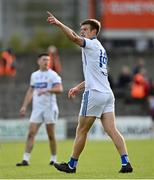 27 September 2020; John Heslin of St Loman's Mullingar during the Westmeath County Senior Football Championship Final match between Tyrrelspass and St Loman's Mullingar at TEG Cusack Park in Mullingar, Westmeath. Photo by Ramsey Cardy/Sportsfile