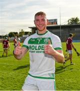 27 September 2020; Patrick Mullen of Ballyhale Shamrocks following his side's victory during the Kilkenny County Senior Hurling Championship Final match between Ballyhale Shamrocks and Dicksboro at UPMC Nowlan Park in Kilkenny. Photo by Seb Daly/Sportsfile