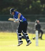 28 September 2020; Craig Young of North West Warriors plays a shot during the Test Triangle Inter-Provincial Series 50 over match between Leinster Lightning and North-West Warriors at Malahide Cricket in Dublin. Photo by Sam Barnes/Sportsfile