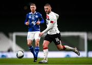 1 October 2020; Sean Murray of Dundalk during the UEFA Europa League Play-off match between Dundalk and Ki Klaksvik at the Aviva Stadium in Dublin. Photo by Ben McShane/Sportsfile