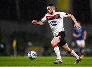 1 October 2020; Michael Duffy of Dundalk during the UEFA Europa League Play-off match between Dundalk and Ki Klaksvik at the Aviva Stadium in Dublin. Photo by Ben McShane/Sportsfile