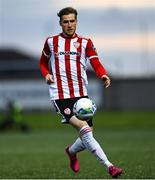 2 October 2020; Stephen Mallon of Derry City during the SSE Airtricity League Premier Division match between Derry City and Waterford at Ryan McBride Brandywell Stadium in Derry. Photo by Piaras Ó Mídheach/Sportsfile