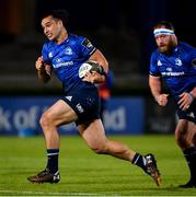 2 October 2020; James Lowe of Leinster during the Guinness PRO14 match between Leinster and Dragons at the RDS Arena in Dublin. Photo by Ramsey Cardy/Sportsfile
