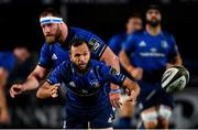 2 October 2020; Jamison Gibson-Park of Leinster during the Guinness PRO14 match between Leinster and Dragons at the RDS Arena in Dublin. Photo by Ramsey Cardy/Sportsfile