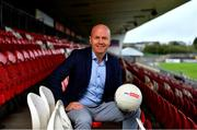 7 October 2020; Sky Sports GAA football analyst Peter Canavan at the Sky Sports GAA Championship launch at Healy Park in Omagh, Tyrone. Sky will open its coverage to more GAA fans by airing ALL of its 14 GAA Championship fixtures live on Sky Sports Mix, a channel more widely available to all Sky customers and on other TV platforms. It means that even those that do not have a Sky Sports subscription will be able to watch the games. Sky Sports Mix is available in approximately 900,000 homes in Ireland on Sky Channel 416 and Virgin Media channel 409. Photo by Brendan Moran/Sportsfile
