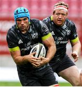 3 October 2020; Tadhg Beirne of Munster during the Guinness PRO14 match between Scarlets and Munster at Parc y Scarlets in Llanelli, Wales. Photo by Darren Griffiths/Sportsfile