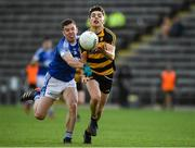 3 October 2020; Stephen Smith of Crosserlough in action against Shane Gray of Kingscourt during the Cavan County Senior Football Championship Final Replay match between Crosserlough and Kingscourt at Kingspan Breffni in Cavan. Photo by Matt Browne/Sportsfile