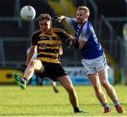3 October 2020; Brandon Boylan of Crosserlough in action against Barry Tully of Kingscourt during the Cavan County Senior Football Championship Final Replay match between Crosserlough and Kingscourt at Kingspan Breffni in Cavan. Photo by Matt Browne/Sportsfile