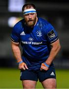 2 October 2020; Michael Bent of Leinster during the Guinness PRO14 match between Leinster and Dragons at the RDS Arena in Dublin. Photo by Brendan Moran/Sportsfile