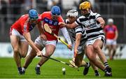 4 October 2020; Conor Cooney, left, and Bernard Burke of St Thomas' in action against Jamie Holland, right, and Daithi Burke of Turloughmore during the Galway County Senior Hurling Championship Final match between Turloughmore and St Thomas at Kenny Park in Athenry, Galway. Photo by David Fitzgerald/Sportsfile