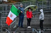 4 October 2020; Gaeil Colmcille supporters during the Meath County Senior Football Championship Final match between Ratoath and Gaeil Colmcille at Páirc Táilteann in Navan, Meath. Photo by Brendan Moran/Sportsfile