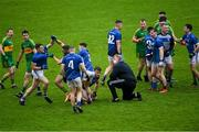 4 October 2020; Tempers flare during the Offaly County Senior Football Championship Final match between Rhode and Tullamore at Bord na Móna O'Connor Park in Tullamore, Offaly. Photo by Piaras Ó Mídheach/Sportsfile