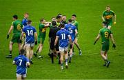 4 October 2020; Players tussle during the Offaly County Senior Football Championship Final match between Rhode and Tullamore at Bord na Móna O'Connor Park in Tullamore, Offaly. Photo by Piaras Ó Mídheach/Sportsfile