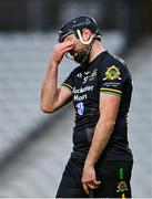 4 October 2020; David Cunningham of Glen Rovers reacts to a missed chance during the Cork County Premier Senior Club Hurling Championship Final match between Glen Rovers and Blackrock at Páirc Ui Chaoimh in Cork. Photo by Sam Barnes/Sportsfile