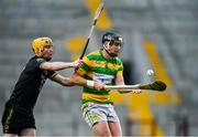 4 October 2020; Niall Cashman of Blackrock in action against David Noonan of Glen Rovers during the Cork County Premier Senior Club Hurling Championship Final match between Glen Rovers and Blackrock at Páirc Ui Chaoimh in Cork. Photo by Sam Barnes/Sportsfile