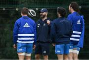 6 October 2020; Contact skills coach Hugh Hogan during Leinster Rugby squad training at UCD in Dublin. Photo by Brendan Moran/Sportsfile