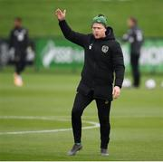 6 October 2020; Republic of Ireland coach Damien Duff during a Republic of Ireland training session at the FAI National Training Centre in Abbotstown, Dublin. Photo by Stephen McCarthy/Sportsfile