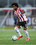 2 October 2020; Walter Figueira of Derry City during the SSE Airtricity League Premier Division match between Derry City and Waterford at Ryan McBride Brandywell Stadium in Derry. Photo by Piaras Ó Mídheach/Sportsfile