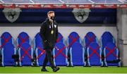 8 October 2020; Republic of Ireland coach Damien Duff ahead of the UEFA EURO2020 Qualifying Play-Off Semi-Final match between Slovakia and Republic of Ireland at Tehelné pole in Bratislava, Slovakia. Photo by Stephen McCarthy/Sportsfile