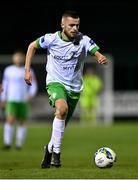 9 October 2020; Paul Fox of Cabinteely during the SSE Airtricity League First Division match between Cabinteely and Longford Town at Stradbrook in Blackrock, Dublin. Photo by Harry Murphy/Sportsfile
