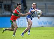 27 September 2020; Darren O'Reilly of Ballyboden St Enda's in action against Cathal O'Tighe of Ballymun Kickhams during the Dublin County Senior 1 Football Championship Final match between Ballyboden St Enda's and Ballymun Kickhams at Parnell Park in Dublin. Photo by Piaras Ó Mídheach/Sportsfile