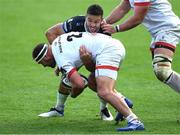 10 October 2020; Rob Herring of Ulster is tackled by Rhys Webb of Ospreys during the Guinness PRO14 match between Ospreys and Ulster at Liberty Stadium in Swansea, Wales. Photo by Ben Evans/Sportsfile