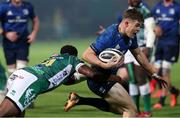 10 October 2020; Garry Ringrose of Leinster is tackled by Ratuva Tavuyara of Benetton during the Guinness PRO14 match between Benetton and Leinster at Stadio Monigo in Treviso, Italy. Photo by Daniele Resini/Sportsfile