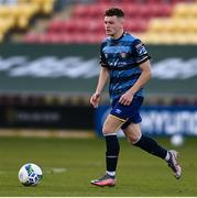 10 October 2020; Callum Thompson of Bray Wanderers during the SSE Airtricity League First Division match between Shamrock Rovers II and Bray Wanderers at Tallaght Stadium in Dublin. Photo by Harry Murphy/Sportsfile